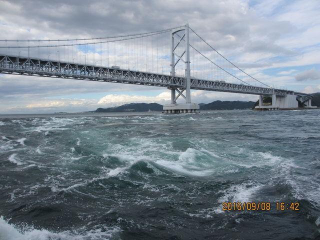 船からの眺め_鳴門海峡