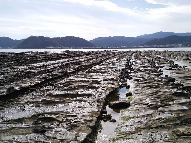 鬼の洗濯板_青島の隆起海床と奇形波蝕痕