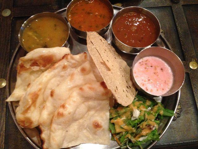 インドベジタブル料理店 マナズ
