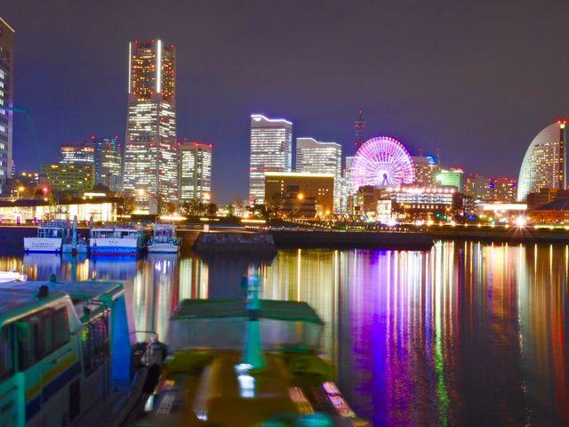 夜景がとてもきれいです!_横浜港大さん橋国際客船ターミナル