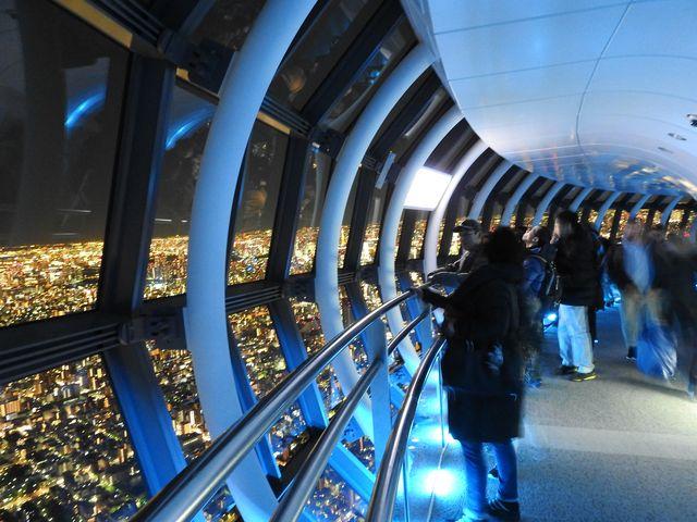 ぐるっと360度夜景を楽しめる_東京スカイツリー