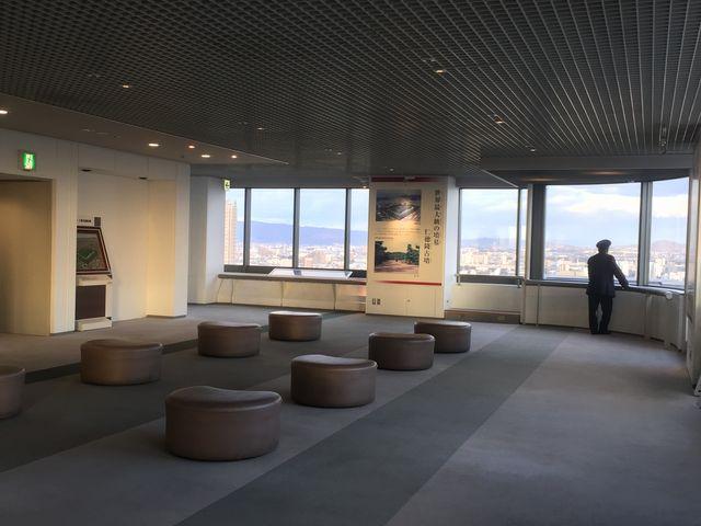 パノラマビューが最高です。_堺市役所21階展望ロビー