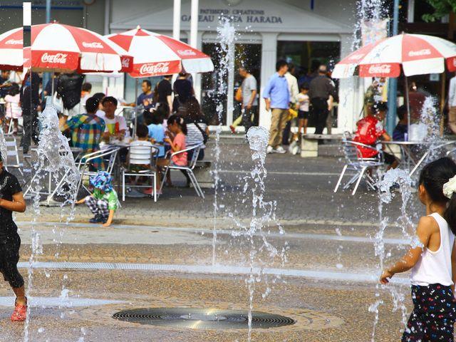 水遊びもできます。_道の駅 ららん藤岡
