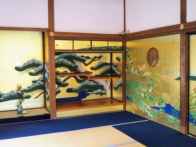 素晴らしい襖絵でした。_圓徳院