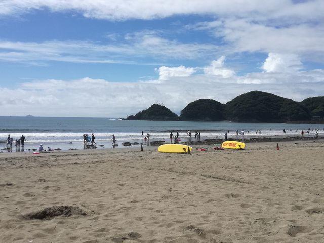 景色_弓ケ浜海水浴場