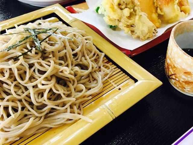 天ぷらそば_お食事処 水峰