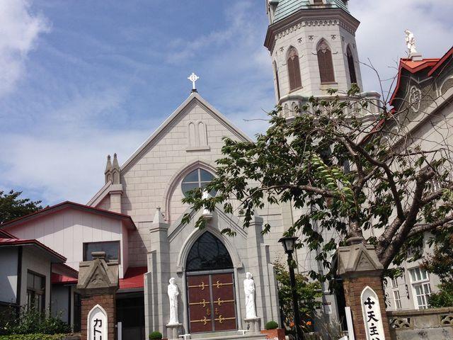 きれいな教会_カトリック元町教会