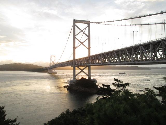徳島県から大鳴門橋が間近に観られるのが良いね。_鳴門公園千畳敷展望台