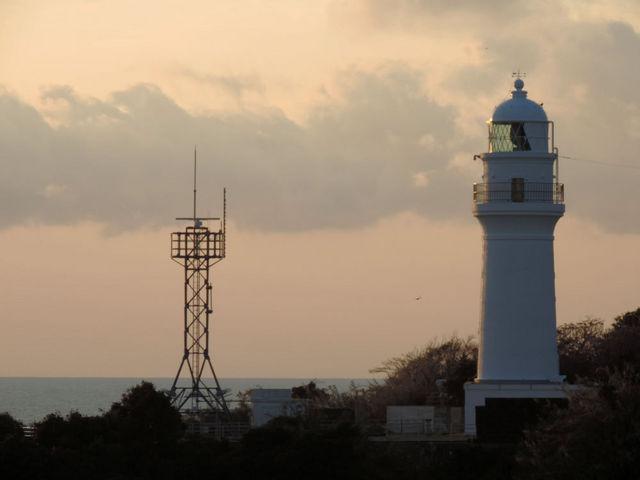 太く逞しく見える_潮岬灯台