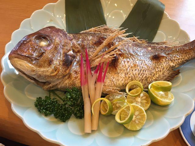 お食い初め用の鯛_海鮮市場 魚大将