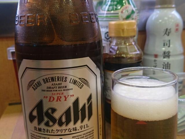 ビール_かっぱ寿司
