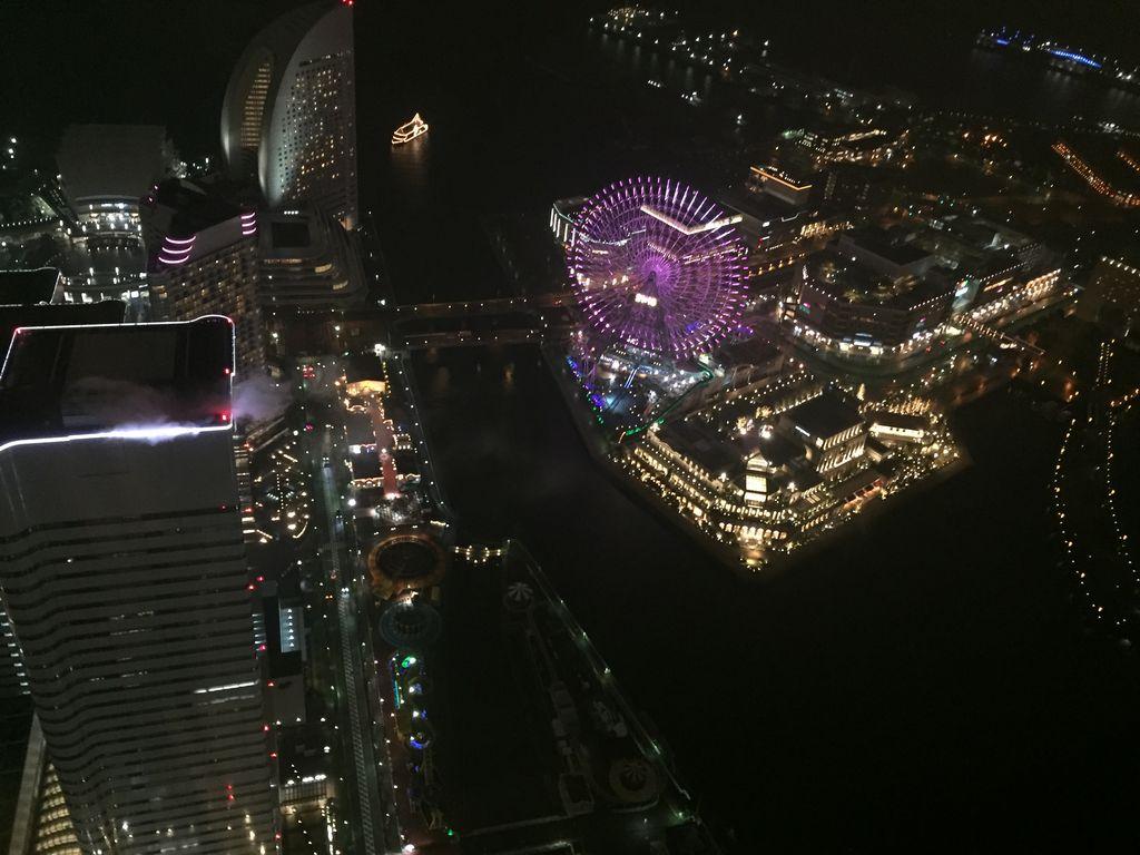 スカイラウンジ シリウス 横浜ロイヤルパークホテル