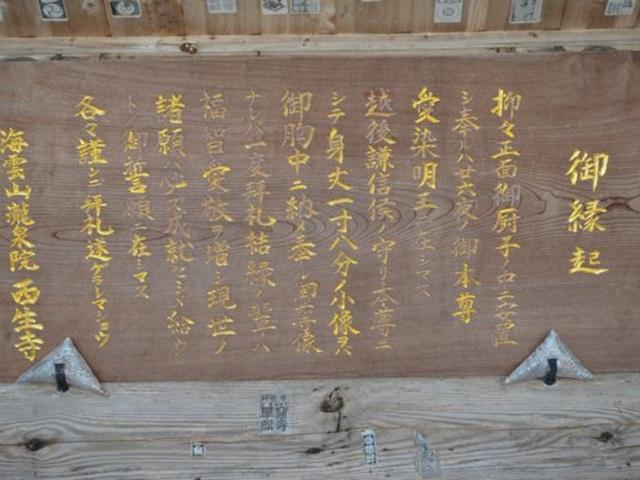 結われあのある愛染明王_西生寺の大銀杏