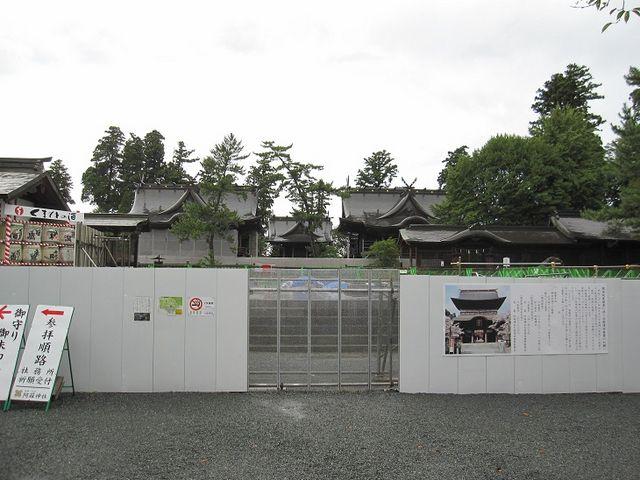 現在の様子_阿蘇神社楼門(二層楼山門式)