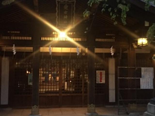 本堂です。_愛宕神社