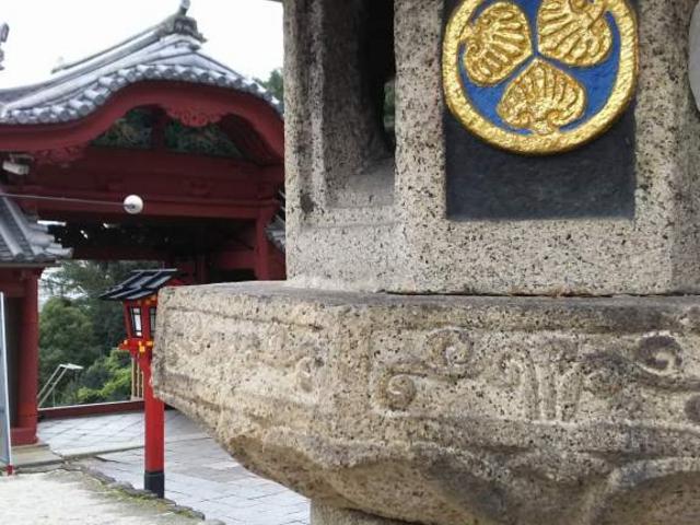 葵の御紋_広島東照宮