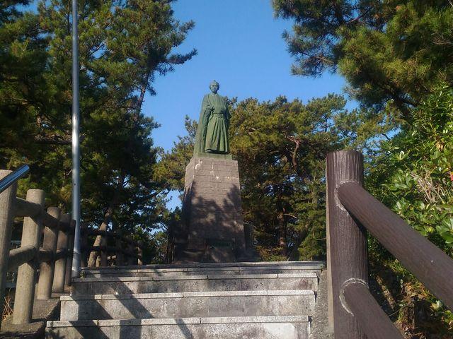 龍馬像_坂本龍馬の銅像