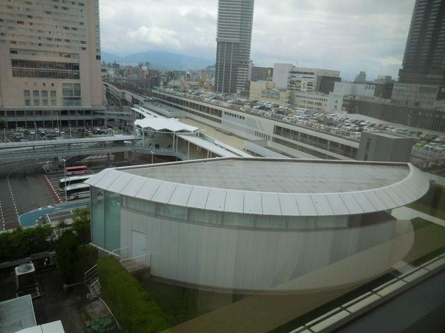 部屋からの眺め_ホテルグランヴィア広島