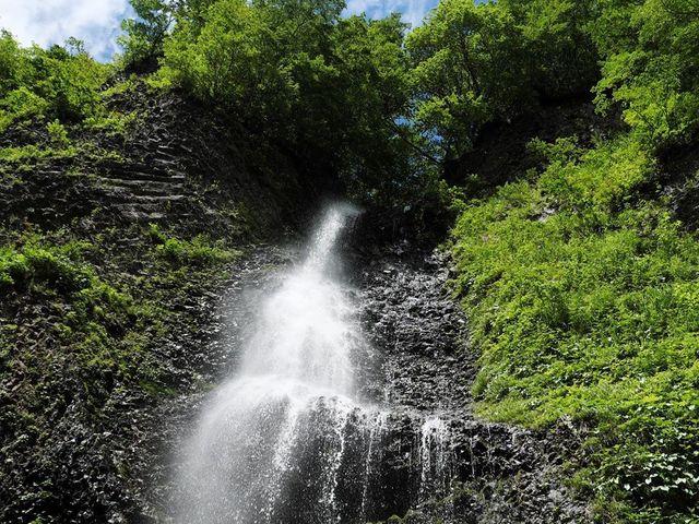 降る滝_女神山