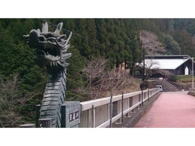 竜神村入り口の橋_龍神温泉