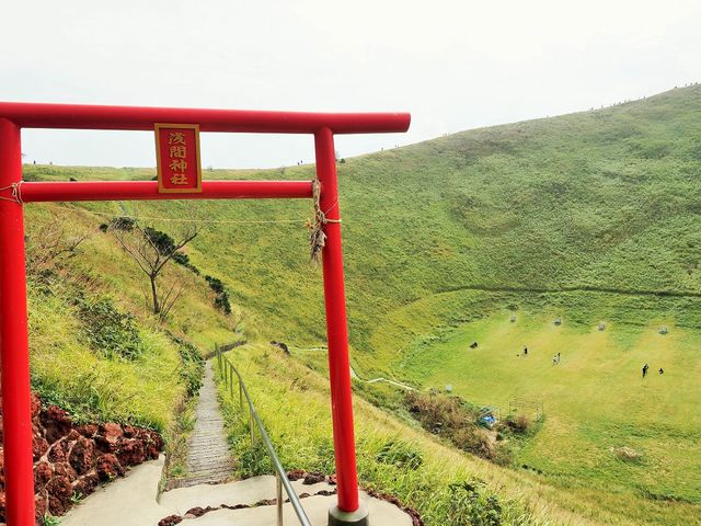 浅間神社の鳥居_大室山