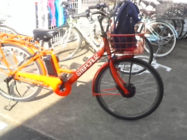 電動自転車です_外宮前観光案内所