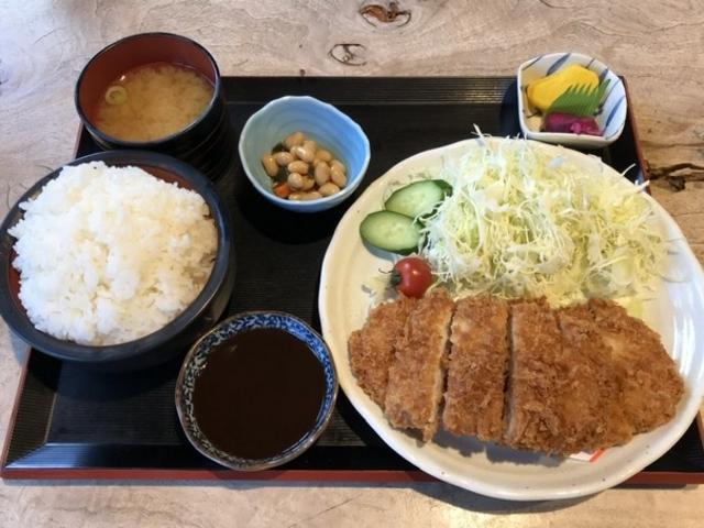 とんかつ定食特盛り_道の駅 奥熊野古道ほんぐう