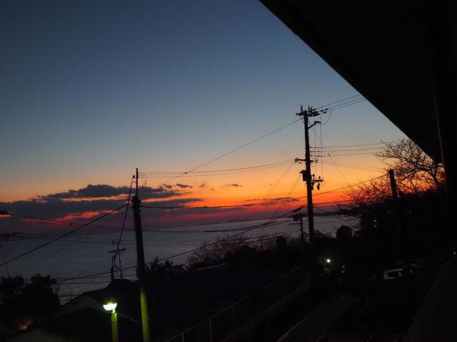 夕焼けもきれい_呑海楼