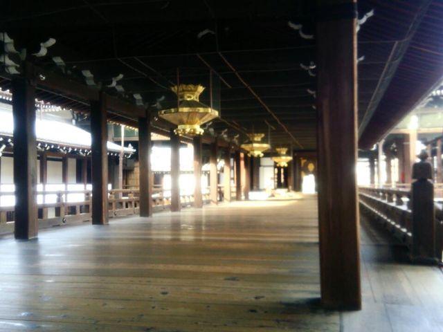 渡り廊下♪_西本願寺(お西さん)