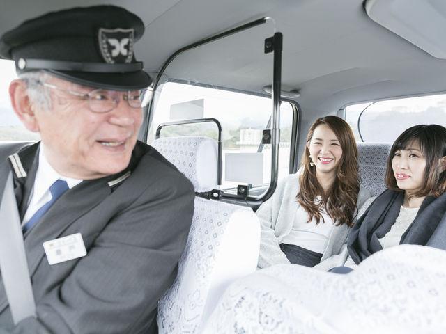 お客様の行きたいお店はもちろん、ドライバーおススメのお店にお案内します。_うどんタクシー