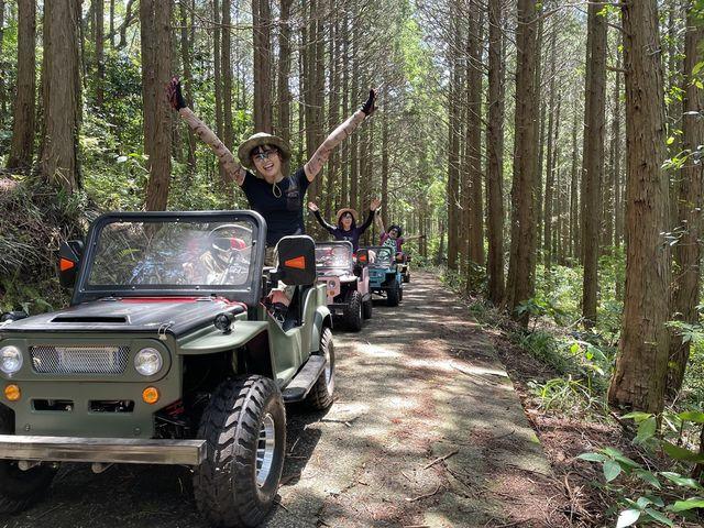 長崎初の四輪バギーを使った森林浴ツアー開催中♪_レストハウス 森のしらべ/アクティビティプラネット雲仙