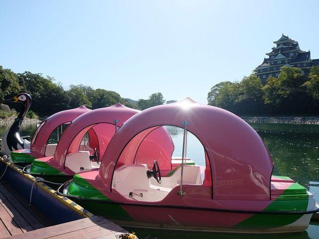 桃ボート定員は3名(大人2名・小人1名)_Caf'e&Restaurant&Boating 碧水園